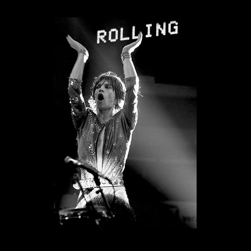 The Rolling Stones Mick Jagger Rotterdam 1973 Men's Vest - Don't Talk To Me About Heroes