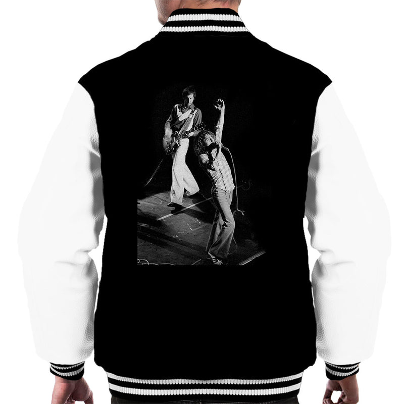 The Who Pete Townshend Roger Daltrey Lyceum Theatre London 1973 Men's Varsity Jacket