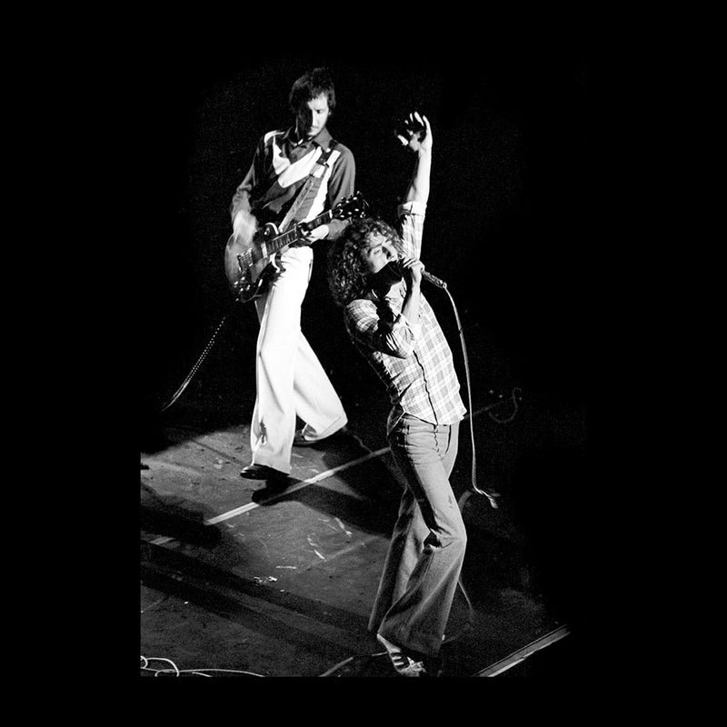 The Who Pete Townshend Roger Daltrey Lyceum Theatre London 1973 Women's Vest - Don't Talk To Me About Heroes