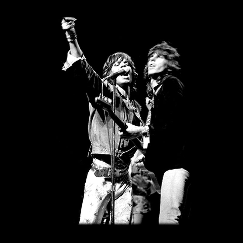 The Rolling Stones Mick Jagger Keith Richards Rotterdam 1973 Men's Vest - Don't Talk To Me About Heroes