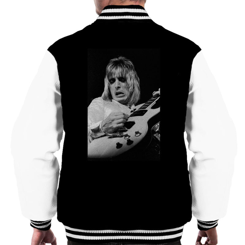 Mick Ronson Spiders From Mars David Bowie Men's Varsity Jacket - Don't Talk To Me About Heroes