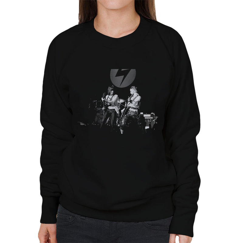 Mick Ronson Jeff Beck Spiders From Mars David Bowie Women's Sweatshirt