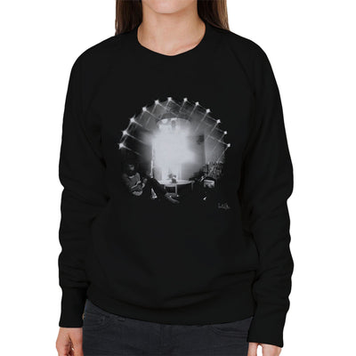 Cat Stevens Playing Guitar Women's Sweatshirt - Don't Talk To Me About Heroes