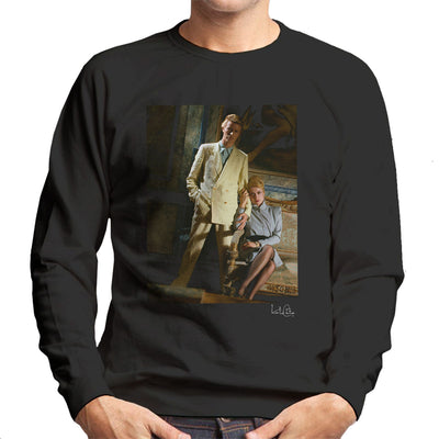 David Bowie And Catherine Deneuve The Hunger Movie Men's Sweatshirt - Don't Talk To Me About Heroes