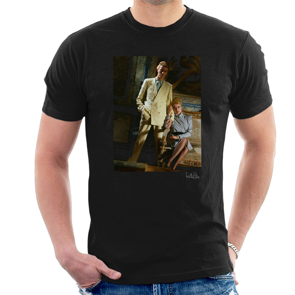 David Bowie And Catherine Deneuve The Hunger Movie Men's T-Shirt