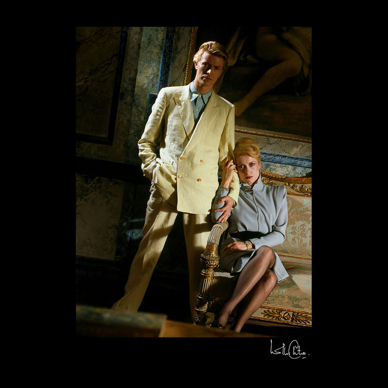 David Bowie And Catherine Deneuve The Hunger Movie Men's Vest - Don't Talk To Me About Heroes