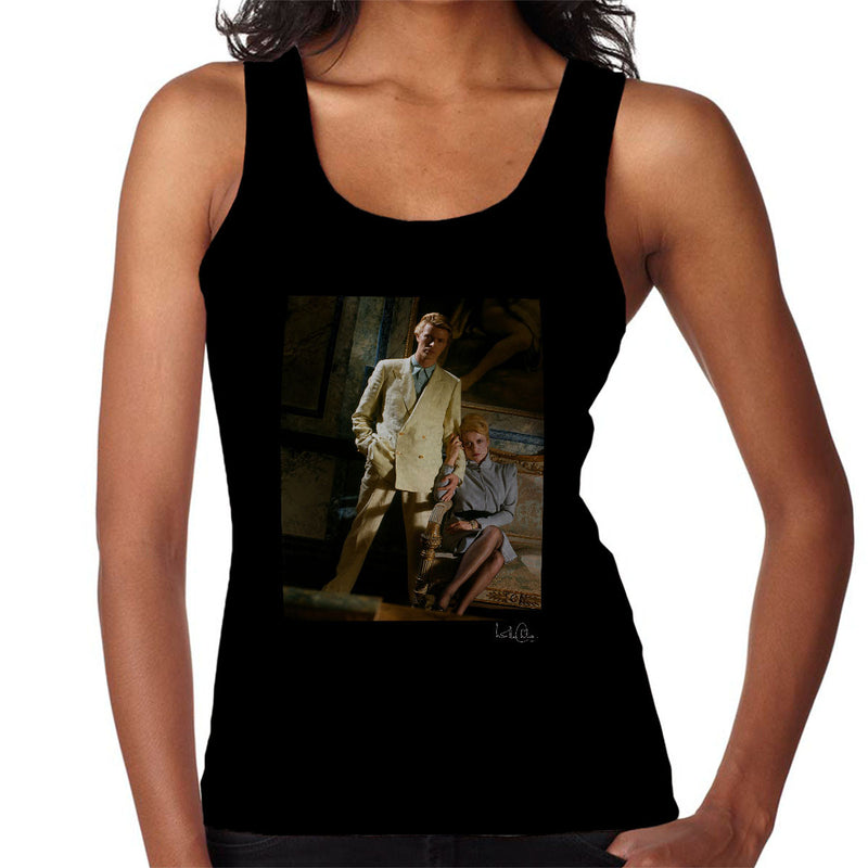 David Bowie And Catherine Deneuve The Hunger Movie Women's Vest - Don't Talk To Me About Heroes