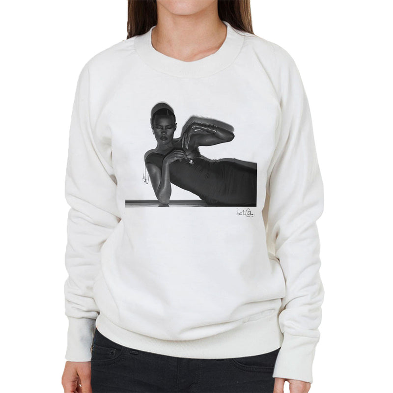 Grace Jones 1974 Women's Sweatshirt - Don't Talk To Me About Heroes