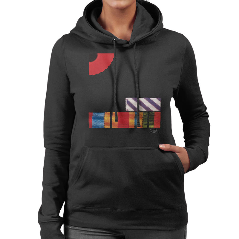 Pink Floyd The Final Cut Album Cover Women's Hooded Sweatshirt - Don't Talk To Me About Heroes