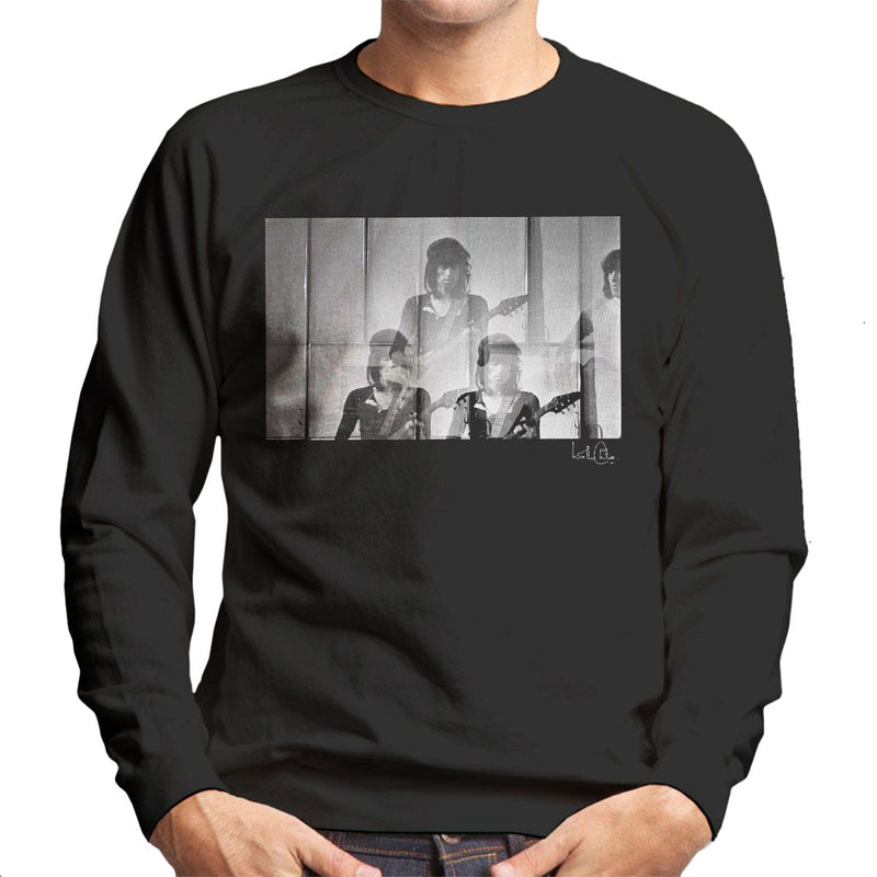 Rolling Stones Keith Richards Guitar Men's Sweatshirt