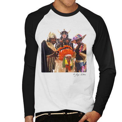 Afrika Bambaataa And Soulsonic Force Men's Baseball Long Sleeved T-Shirt - Don't Talk To Me About Heroes