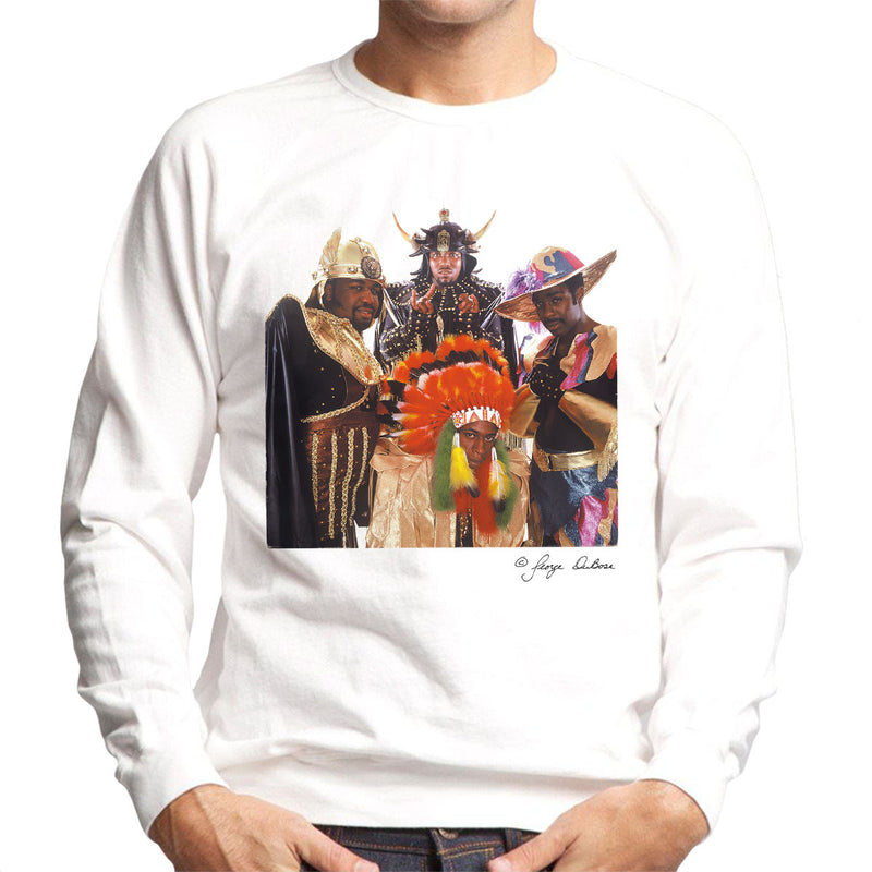 Afrika Bambaataa And Soulsonic Force Men's Sweatshirt - Don't Talk To Me About Heroes
