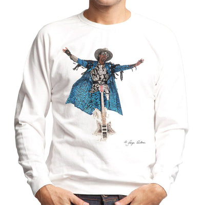 Bootsy Collins Guitar Men's Sweatshirt - Don't Talk To Me About Heroes
