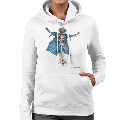 Bootsy Collins Guitar Women's Hooded Sweatshirt - Don't Talk To Me About Heroes