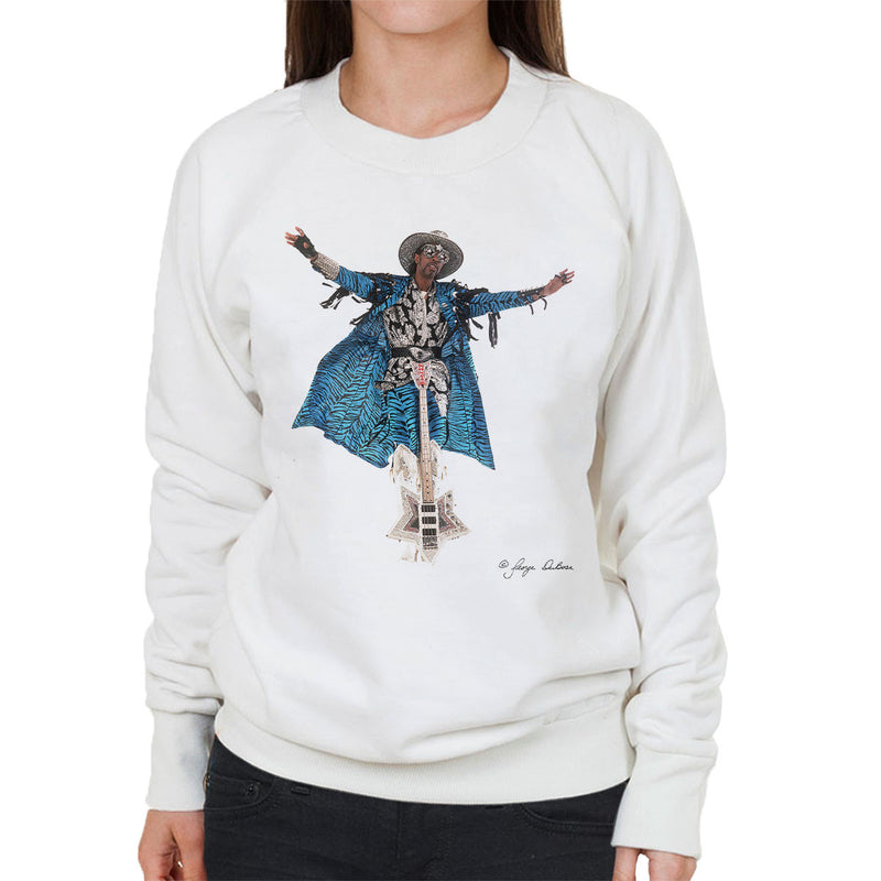 Bootsy Collins Guitar Women's Sweatshirt