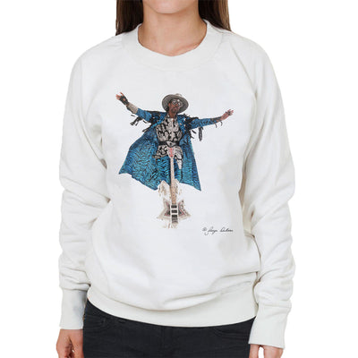 Bootsy Collins Guitar Women's Sweatshirt - Don't Talk To Me About Heroes