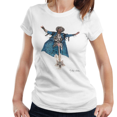 Bootsy Collins Guitar Women's T-Shirt - Don't Talk To Me About Heroes