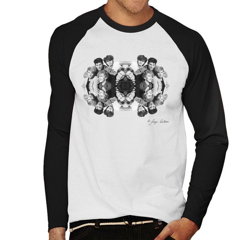 Duran Duran Mirrored Men's Baseball Long Sleeved T-Shirt
