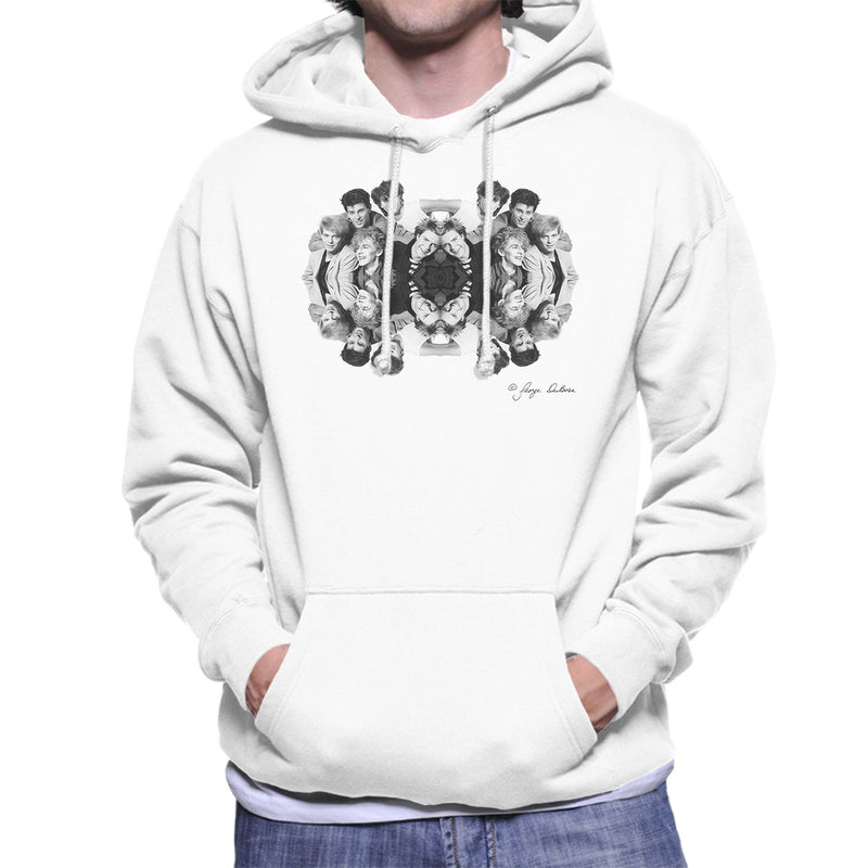 Duran Duran Mirrored Men's Hooded Sweatshirt - Don't Talk To Me About Heroes