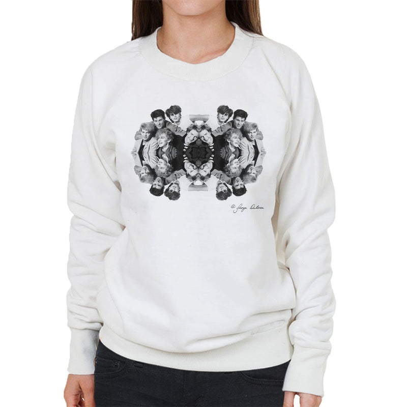 Duran Duran Mirrored Women's Sweatshirt