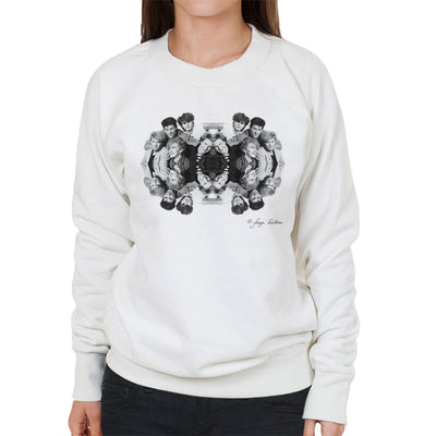 Duran Duran Mirrored Women's Sweatshirt - Don't Talk To Me About Heroes