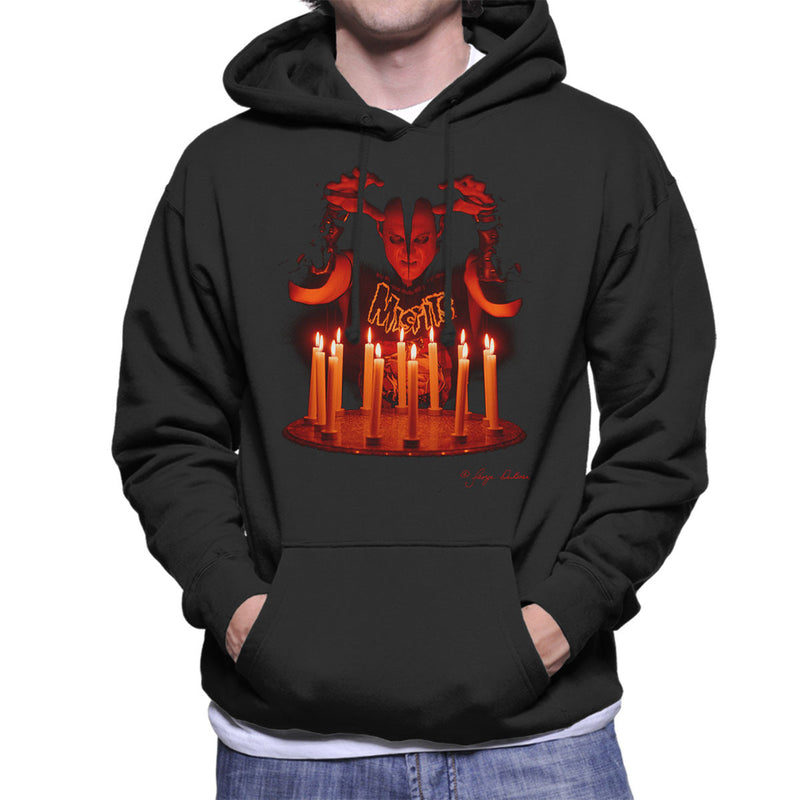 Misfits Jerry Candles Men's Hooded Sweatshirt - Don't Talk To Me About Heroes
