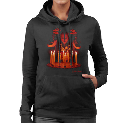 Misfits Jerry Candles Women's Hooded Sweatshirt - Don't Talk To Me About Heroes