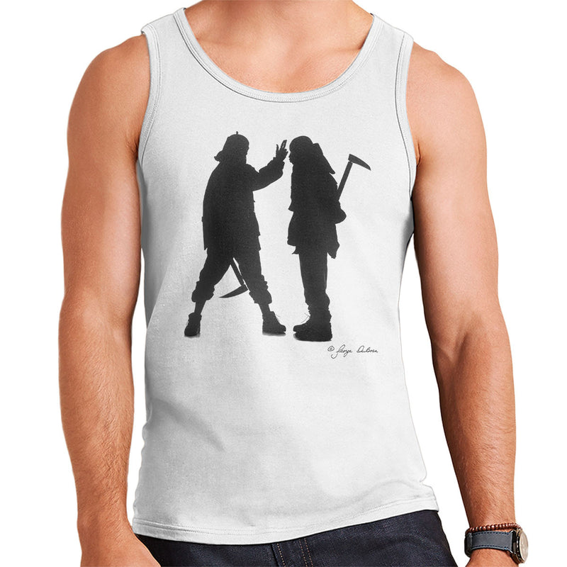 Mobb Deep Silhouette Men's Vest - Don't Talk To Me About Heroes