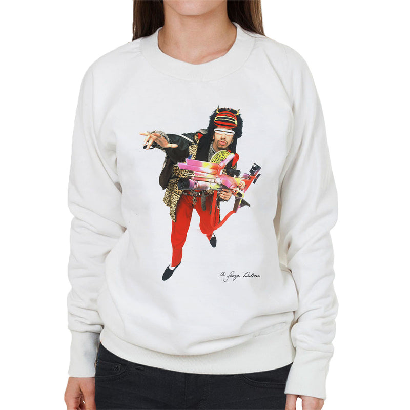Rammellzee Graffiti Artist Women's Sweatshirt - Don't Talk To Me About Heroes