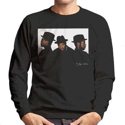 Run DMC Joseph Simmons Darryl McDaniels and Jason Mizell Men's Sweatshirt - Don't Talk To Me About Heroes