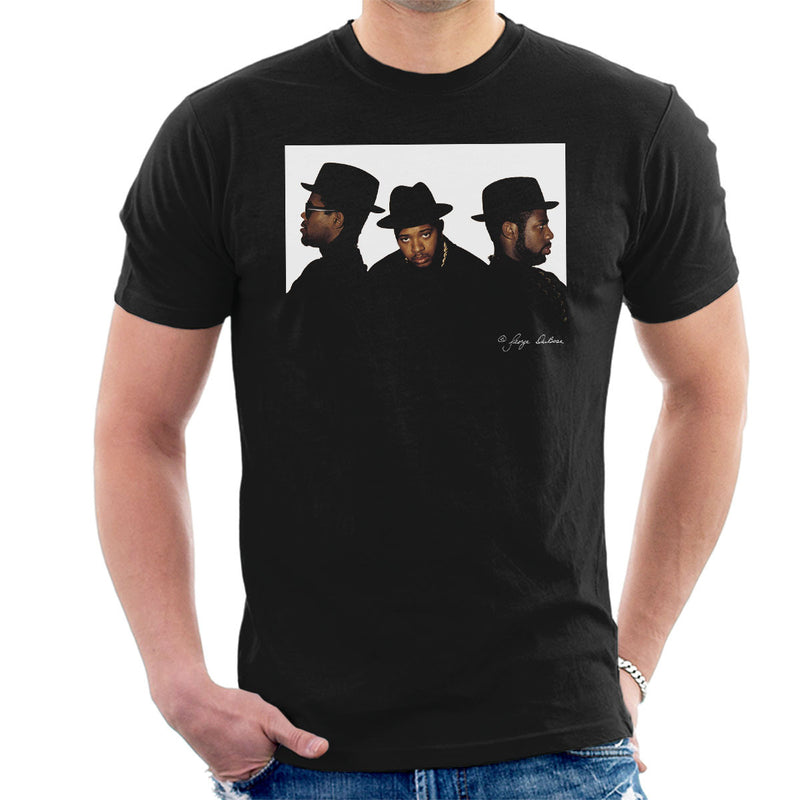 Run DMC Joseph Simmons Darryl McDaniels and Jason Mizell Men's T-Shirt - Don't Talk To Me About Heroes