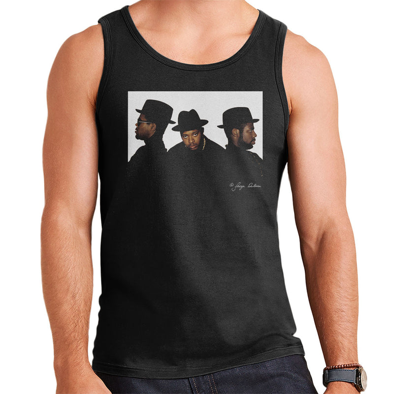 Run DMC Joseph Simmons Darryl McDaniels and Jason Mizell Men's Vest - Don't Talk To Me About Heroes