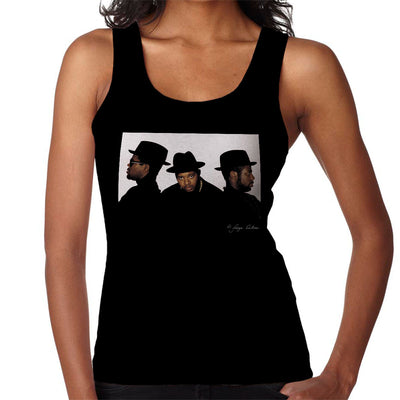 Run DMC Joseph Simmons Darryl McDaniels and Jason Mizell Women's Vest - Don't Talk To Me About Heroes