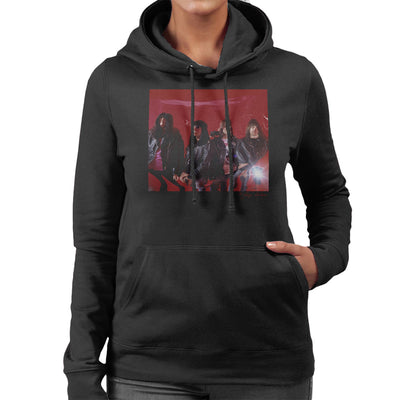 Ramones Mondo Bizarro Album Cover Outtake Women's Hooded Sweatshirt - Don't Talk To Me About Heroes