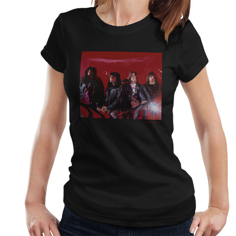 Ramones Mondo Bizarro Album Cover Outtake Women's T-Shirt - Don't Talk To Me About Heroes