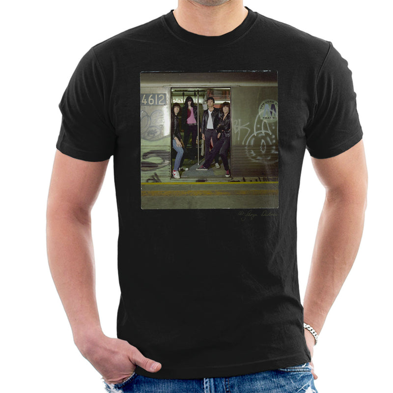 Ramones Subterranean Jungle Album Men's T-Shirt - Don't Talk To Me About Heroes