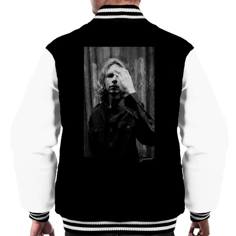 Beck Covent Garden Hotel Men's Varsity Jacket - Don't Talk To Me About Heroes