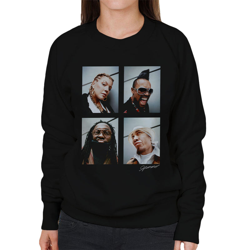 Black Eyed Peas Photoshoot 2004 Fergie Will I Am Women's Sweatshirt - Don't Talk To Me About Heroes