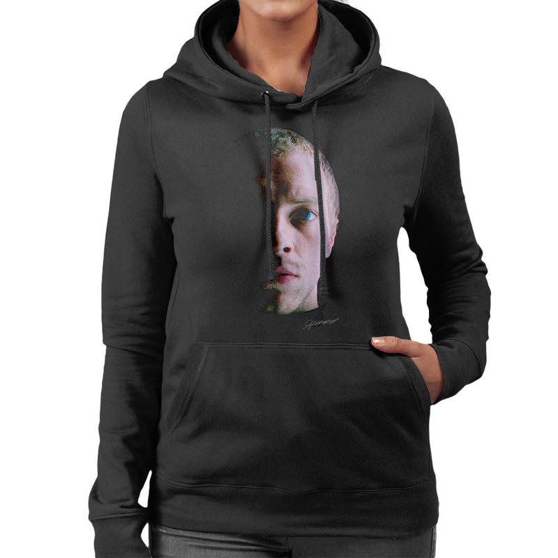 Coldplay Chris Martin Close Up Women's Hooded Sweatshirt