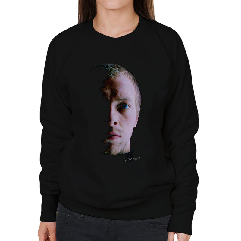 Coldplay Chris Martin Close Up Women's Sweatshirt