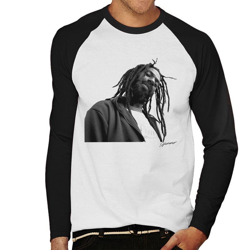 Buju Banton Men's Baseball Long Sleeved T-Shirt - Don't Talk To Me About Heroes