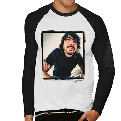 Dave Grohl Munich 2007 Men's Baseball Long Sleeved T-Shirt - Don't Talk To Me About Heroes