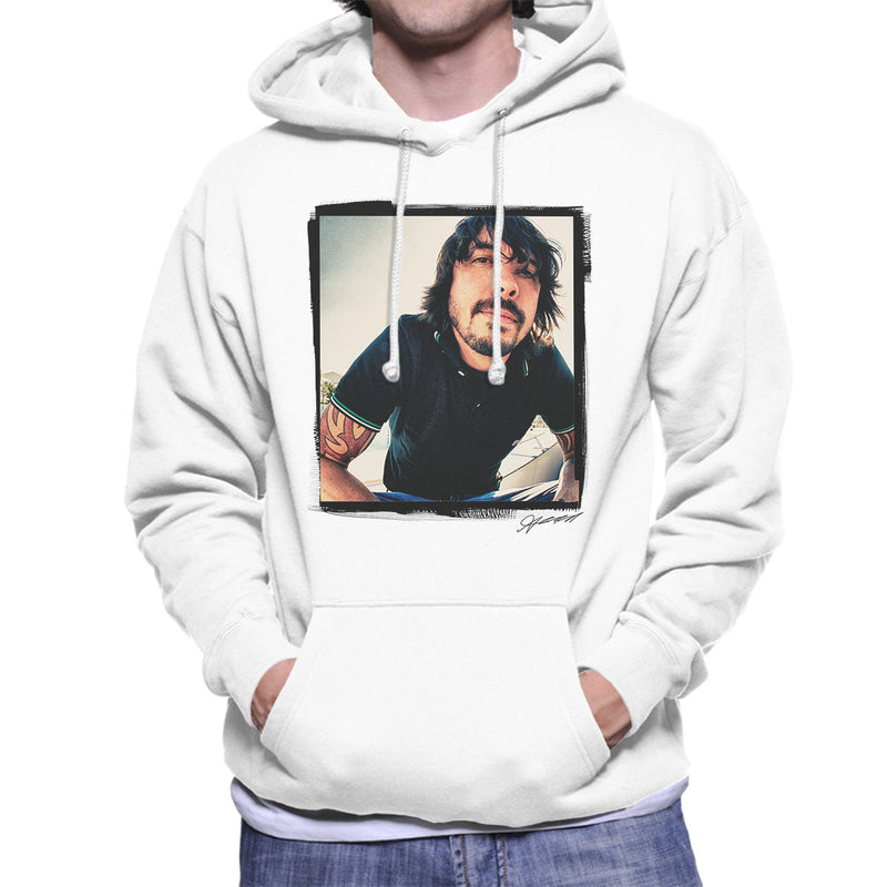Dave Grohl Munich 2007 Men's Hooded Sweatshirt - Don't Talk To Me About Heroes