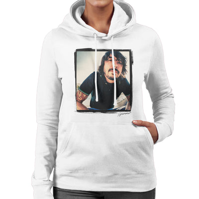 Dave Grohl Munich 2007 Women's Hooded Sweatshirt - Don't Talk To Me About Heroes