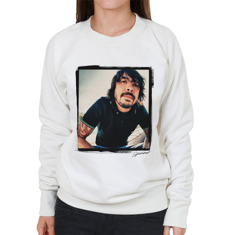 Dave Grohl Munich 2007 Women's Sweatshirt - Don't Talk To Me About Heroes