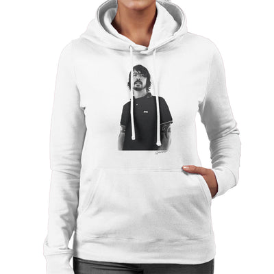Dave Grohl Munich Rooftop 2007 Women's Hooded Sweatshirt