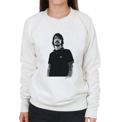 Dave Grohl Munich Rooftop 2007 Women's Sweatshirt - Don't Talk To Me About Heroes