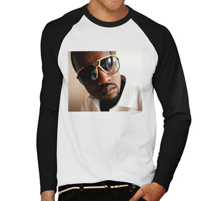 Kanye West Sunglasses Men's Baseball Long Sleeved T-Shirt - Don't Talk To Me About Heroes