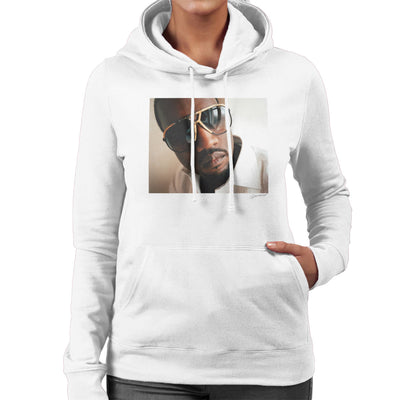Kanye West Sunglasses Women's Hooded Sweatshirt - Don't Talk To Me About Heroes