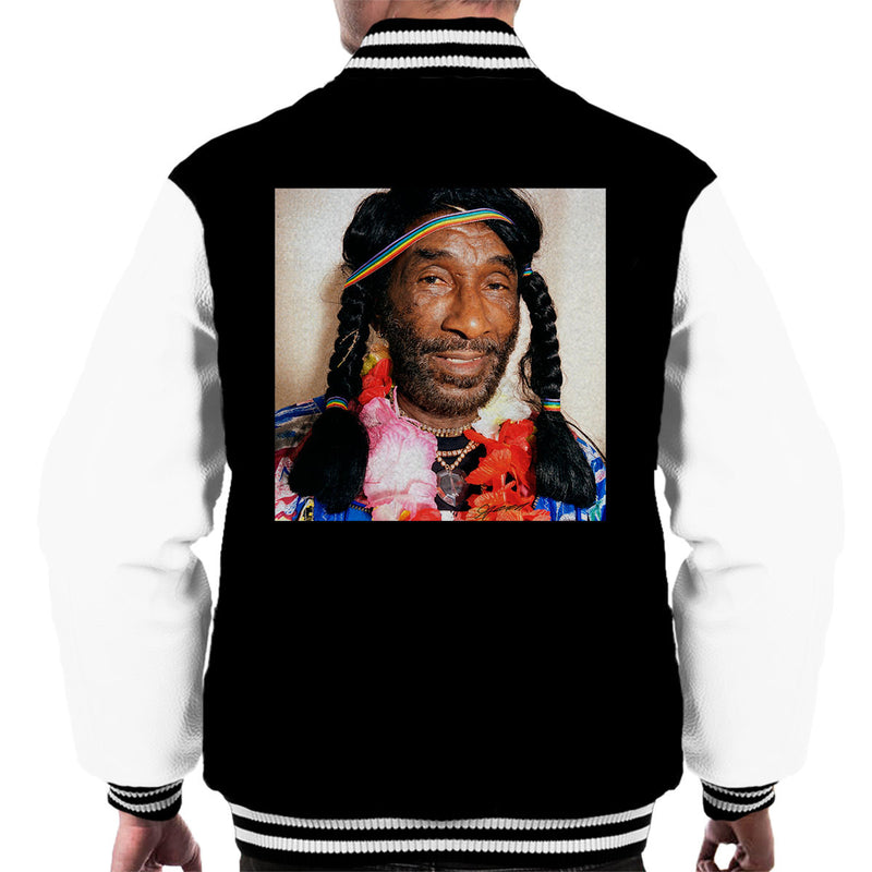 Lee Scratch Perry Braids Men's Varsity Jacket - Don't Talk To Me About Heroes